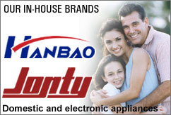 Hanbao and Jonty - Domestic and electronic appliances